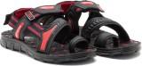 Provogue Men Red/Black Sandals