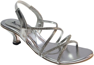 Primes Women Silver Heels