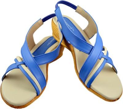 Canvera Women Blue Heels