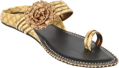 Indulgence Antique Bow Sandals Women Natural Flats