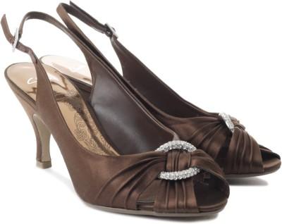 Clarks Sukie Deep Women Brown Heels