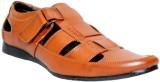 JK Port Men Tan Sandals