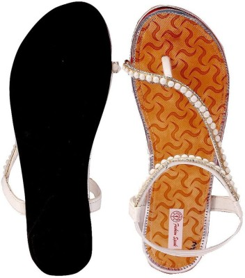 Fashion Speak Women White Flats