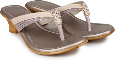 Shezone Women Beige Heels
