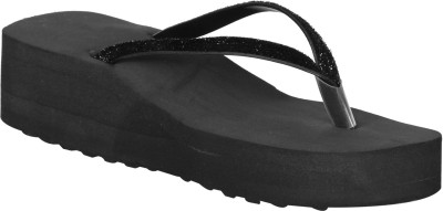 VAGON Women Black Wedges
