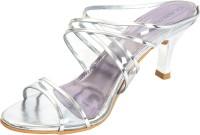 Glameous Women Silver Heels