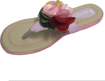 Primes Girls Pink, Beige Sandals