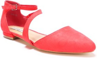 SOULIER CARTE Women Orange Flats