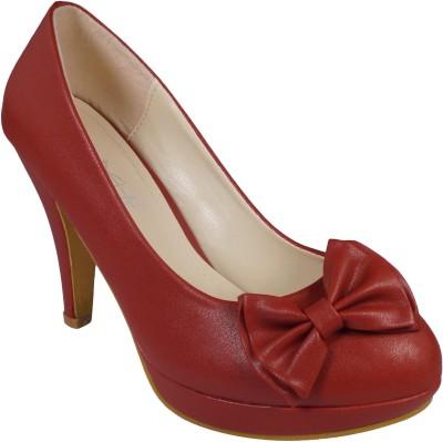 Ladela Women Red Heels