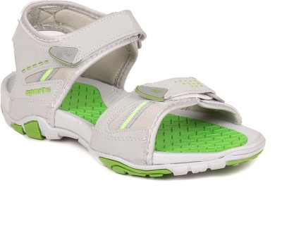 SCANTIA Men Grey, Green Sandals