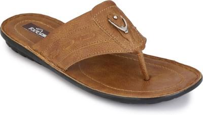FOOTCHOLIC Men Tan Sandals
