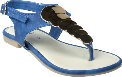 Florish Women Blue Flats