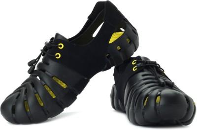 Globalite Parko II Men Black, Yellow Sandals