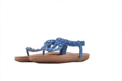 Shuberry Women Blue Flats