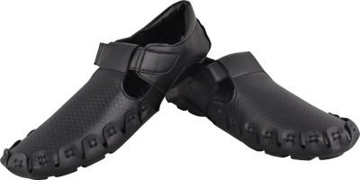 HD Shoes Men Black Sandals