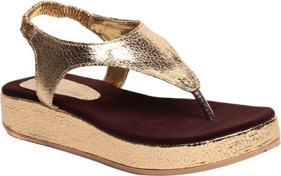 Zohra Collection Women Brown Flats