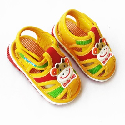 Stuff Jam Baby Boys Yellow Sandals