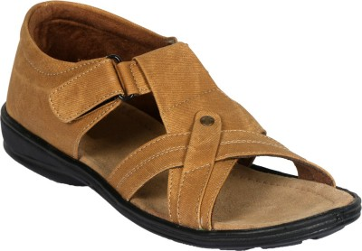 Vittaly Men Tan Sandals
