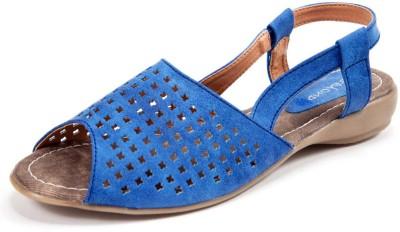 Beyond Opal Delite Women Blue Flats
