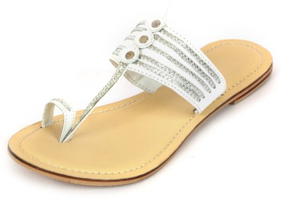 Wear N Walk Women White Flats