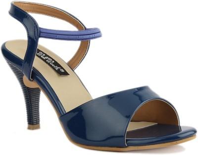 SANDHILLS Women Blue Heels