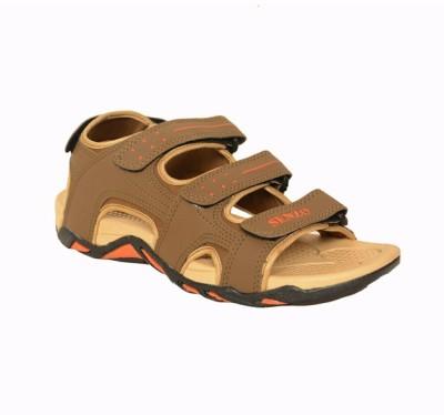 Senzo Men Orange Sandals