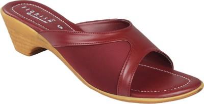 Florish Women Maroon Heels