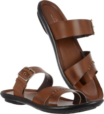 Moladz Men Tan Sandals