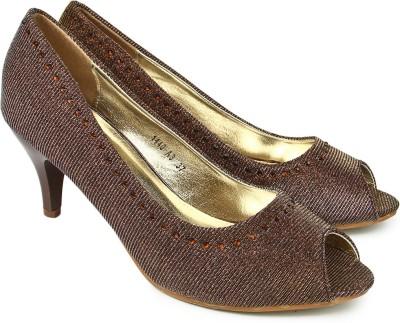 Jove Women Brown Heels