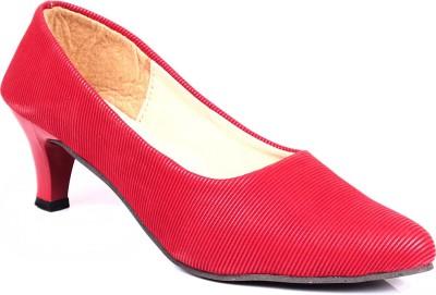 Bare Soles Women Red Heels