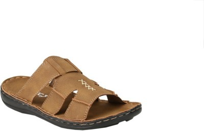 Jacs Shoes Men Brown Sandals