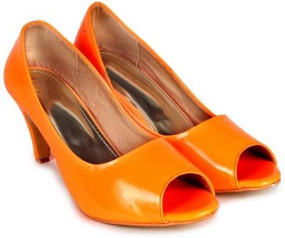 Ziesha Women Orange Heels