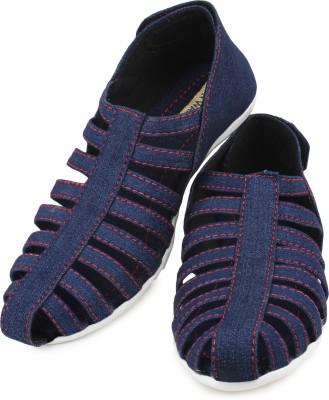 Moonwalk Women Blue Flats