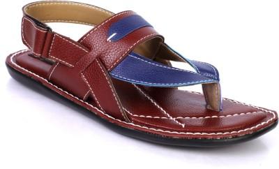 Rolif Men Burgundy Sandals