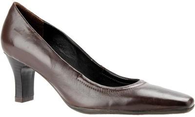 Salt N Pepper Women Brown Heels