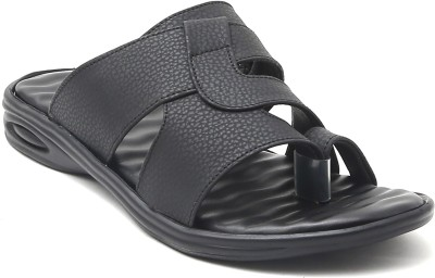 WeDeshi Men Black Sandals