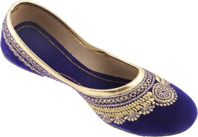 heavenfoot Girls Blue Flats