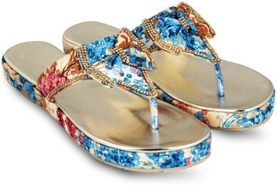 Anand Archies Women Blue Flats