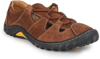 Delchi Men Brown Sandals