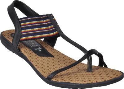 Ajanta Women Beige, Black Heels