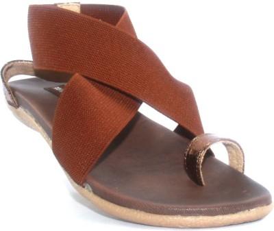 PAWAR Women Brown Flats