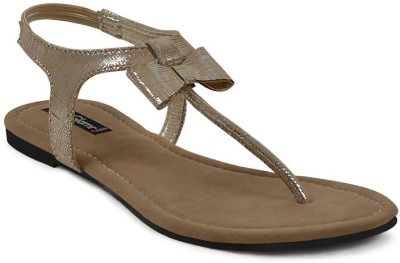 Get Glamr Stylish Boe Girls Grey Flats