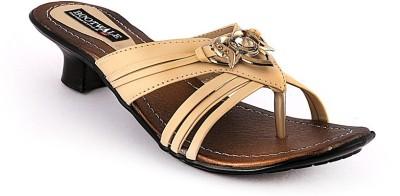 Bootwale Women Tan Heels