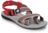 Wave Walk Red Sandals