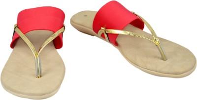 Walk N See Women Red Flats