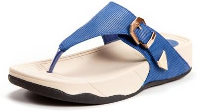Marc Loire Leslye Reese Women Blue Flats
