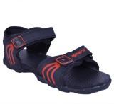 Sparx Men Black Red Sandals