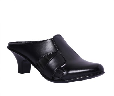 Pantof Women Black Heels