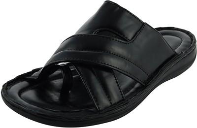 MACVEN Men Black Sandals