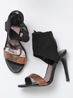 Mast & Harbour Women Black Heels